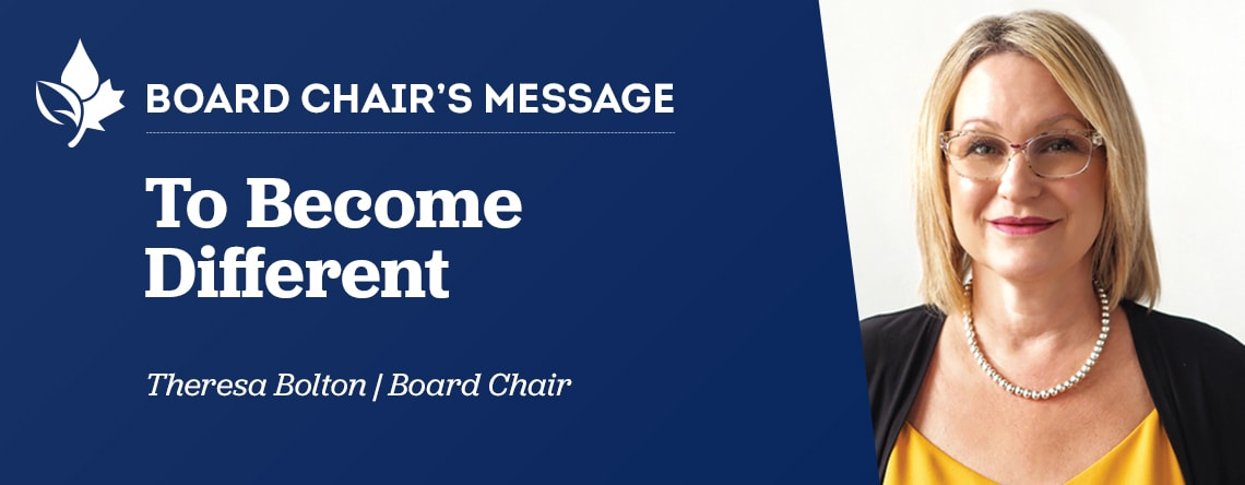 Banner of Communicator October 2020 Board Chair's Message