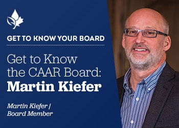Thumbnail of Communicator August 2020 Get to Know Board: Martin Kiefer
