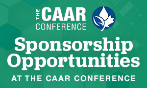Sponsorship Opportunities at the CAAR Conference