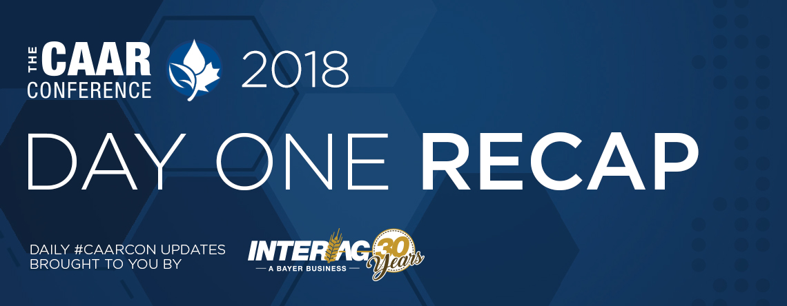 2018 CAAR Conference - Day One Recap