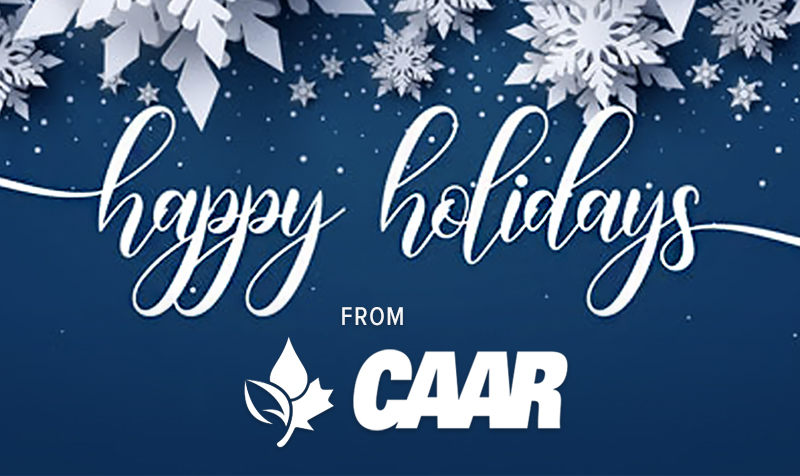 Thumbnail for Happy Holidays from CAAR