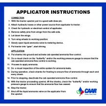 Applicator Instructions