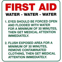 First Aid - Water Water Water