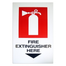 Extinguisher Here Card