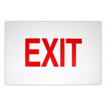 Exit Sign Card
