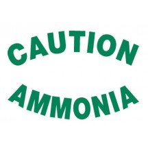 Rear - Caution Ammonia