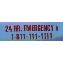 24 HR Phone Emergency Decal