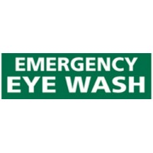 Emergency Eye Wash Decal